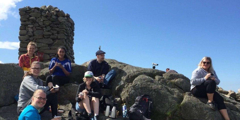 Bilde: Landsstyret på fjelltur